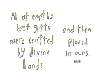 Haiku Art // Earth's Best Gifts