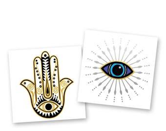 Evil eye tattoo | Etsy