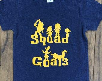 Jake & The Neverland Pirates Squad Goals Tee