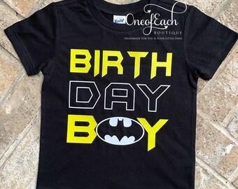 Batman Birthday Boy Tee/Bodysuit