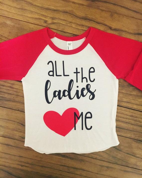 eec5c711d All The Ladies Love Me Bodysuit/Raglan | Etsy