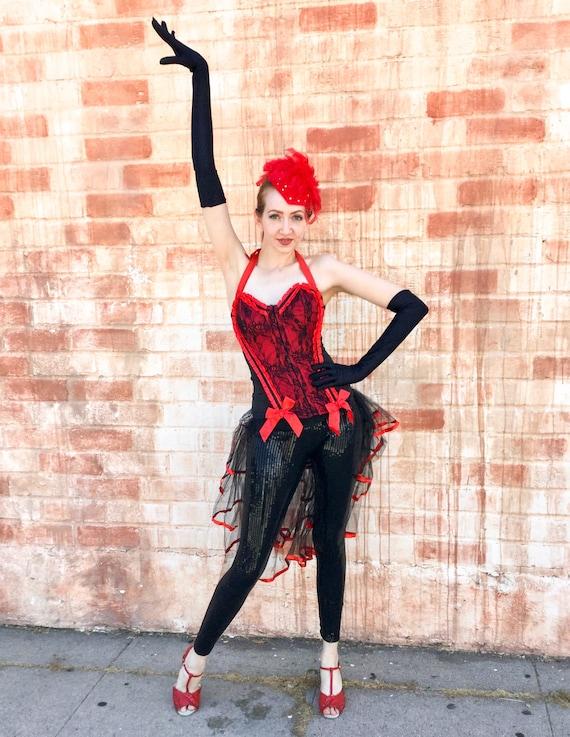 Vintage Showgirl Costume