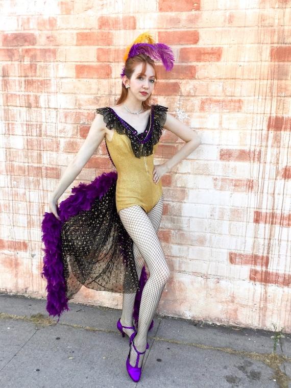 Vintage 1960's Showgirl Costume
