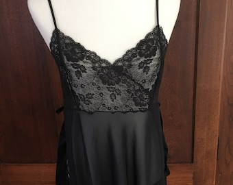 L / Victoria's Secret / Black Babydoll / Large