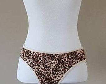 7bf9f31867f75 Size 7   Panties   Animal Print  Leopard Print   Sexy   Stretchy   Large