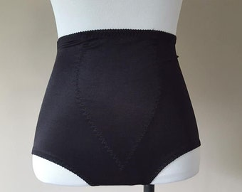8058d08fb Girdle Medium Panty Girdle Black No Tag Shapewear Firm Tight Hold Vintage  Lingerie