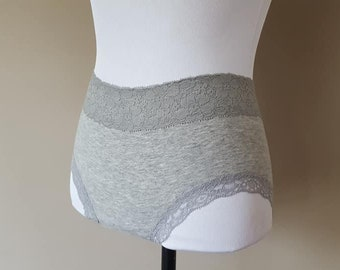 4e4eb343395b Panties Small Gray Stretchy Vintage Lingerie