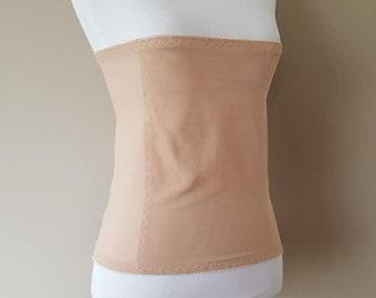 b28cb6d1aabe3 Waist Shaper XXL Underbust Nude Shapewear Waist Girdle Vintage Lingerie