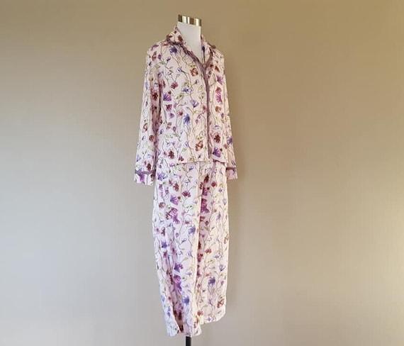 Pajamas Extra Small Victoria's Secret Purple Flora