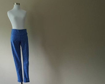 M / Workout Pants / Blue / Medium