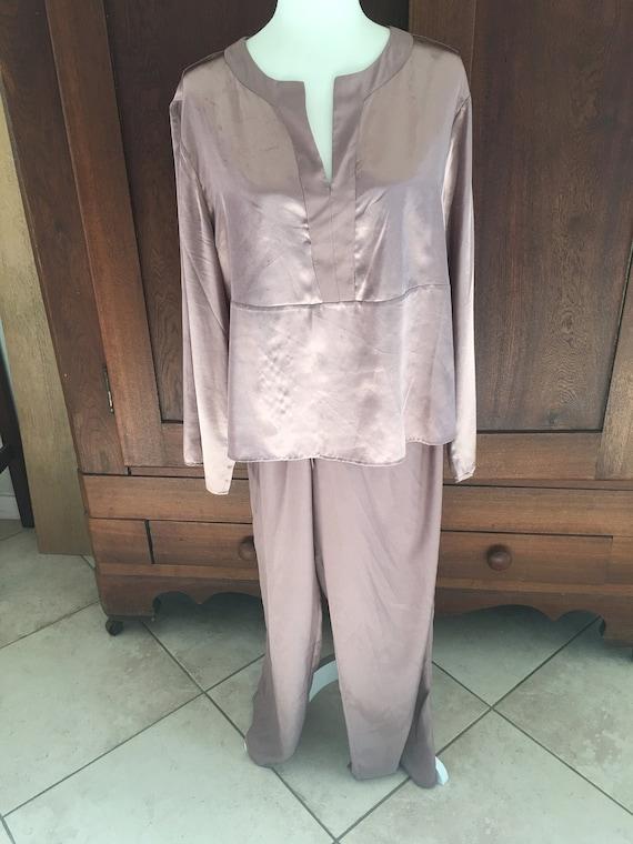 Large Copper Pajamas Satin...