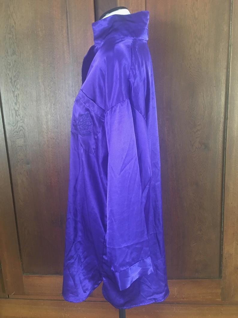 Sleep Shirt Victoria/'s Secret Medium Purple Gold Label Vintage