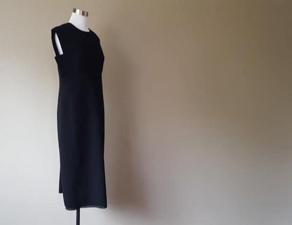 Wool Dress and Jacket Medium 1950's Couture Tassel