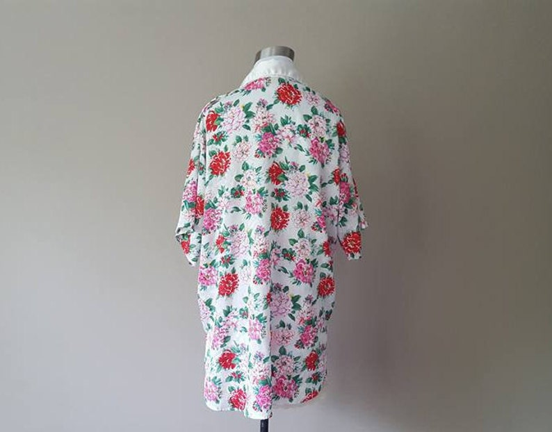 634306ebda027 Gown AND Robe Small Victoria's Secret GOLD LABEL Slip Dress and Night Shirt  Cover Up Floral Print Petite Vintage Lingerie