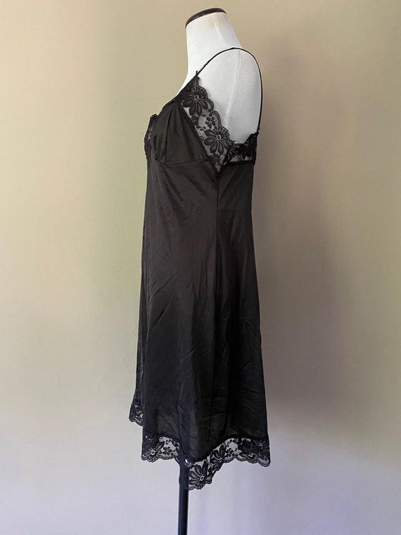 36 Lorraine Full SLip Black... - image 6