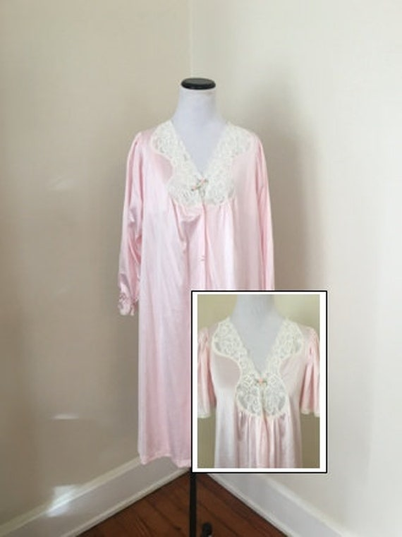 Peignoir Robe Nightgown Set Small Vanity Fair Vint