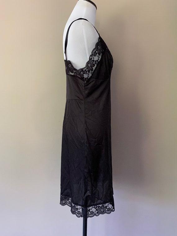 36 Lorraine Full SLip Black... - image 4