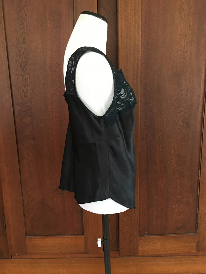 Size 36 Camisole Lucie Ann II Black Lace