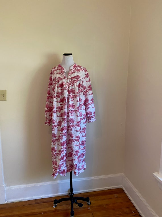 Large Eileen West Flannel Nightgown...