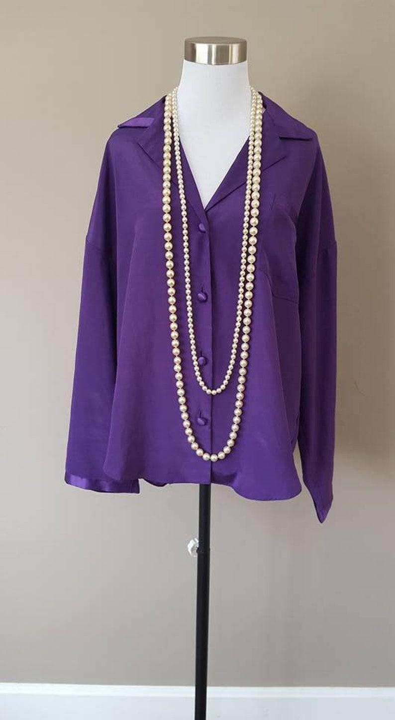 12b30cd9b59 Sleep Shirt Victoria s Secret Medium Bed Top Purple