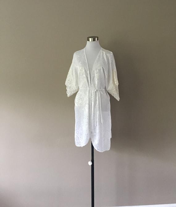 Lucie Ann II Made in USA White Robe