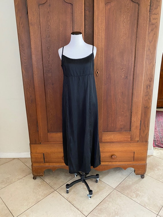 SILK  Nightgown Black Small...