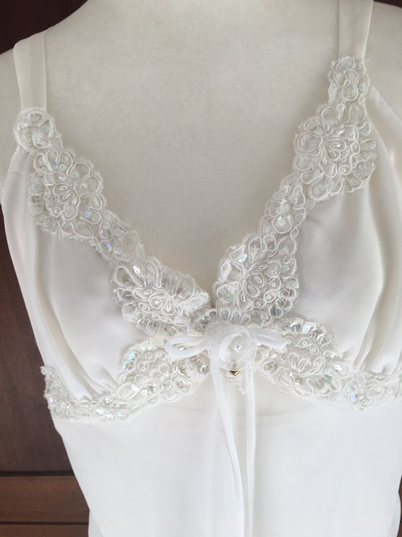 Extra Large Lucie Ann White Pajamas with Sequins … - image 2