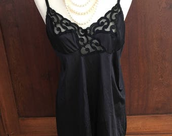 34 / Full Slip / Vintage Black / Small