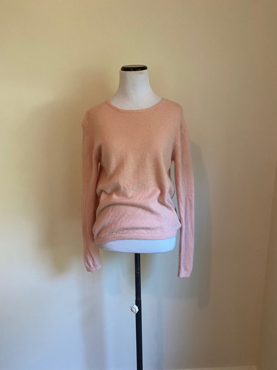 CASHMERE Sweater Medium Pink from Skas Fifth Avenu