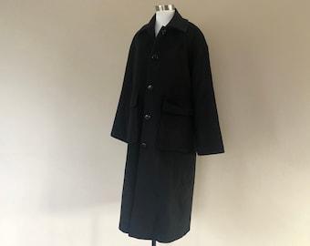 Pendleton Wool Coat 6 Petite fits like a generous Small Medium Black...