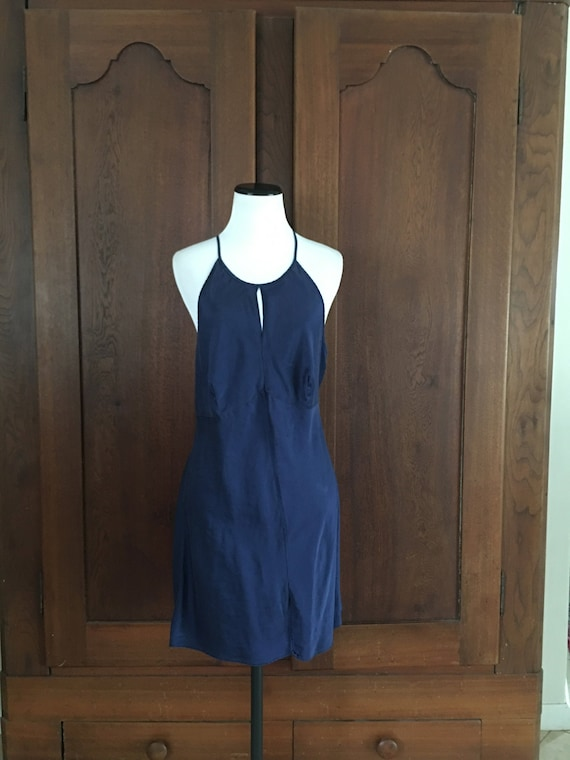 SILK Chemise Large Victoria's Secret Heart Label N