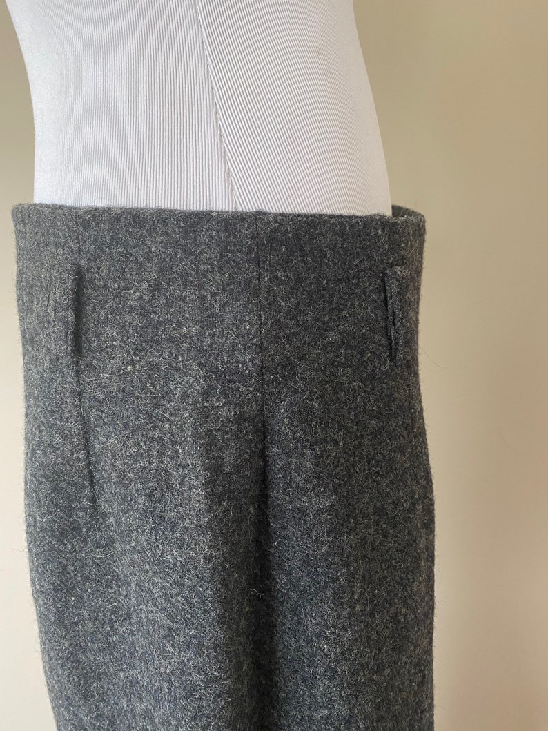 Wrap Skirt Eddie Bauer 85/% wool Size 16 Tall Gray...