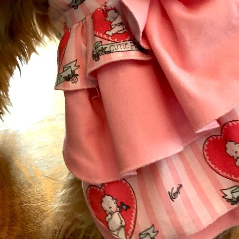 Valentine Dog Dress Valentine/'s Dog Dress Dog Valentines Day Dresses Valentine Dog Valentine/'s Day Dog Dress Dog Valentine Dress