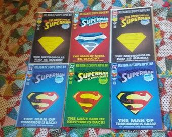 Superman Comic Book Lot DC Universe 41 Books!