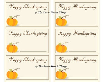 image relating to Thanksgiving Place Cards Printable referred to as Napkin level playing cards Etsy