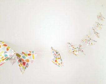 Butterfly Origami Baby Garland