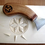 Wood carving tools + There is a link to the video lesson.