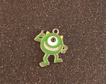 Mike Wazowski charm, Monsters Inc. charm