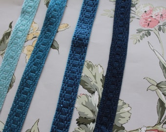 Trimmings from HOULES Paris, border for lampshade, French trimmings, upholstery braid, 2740