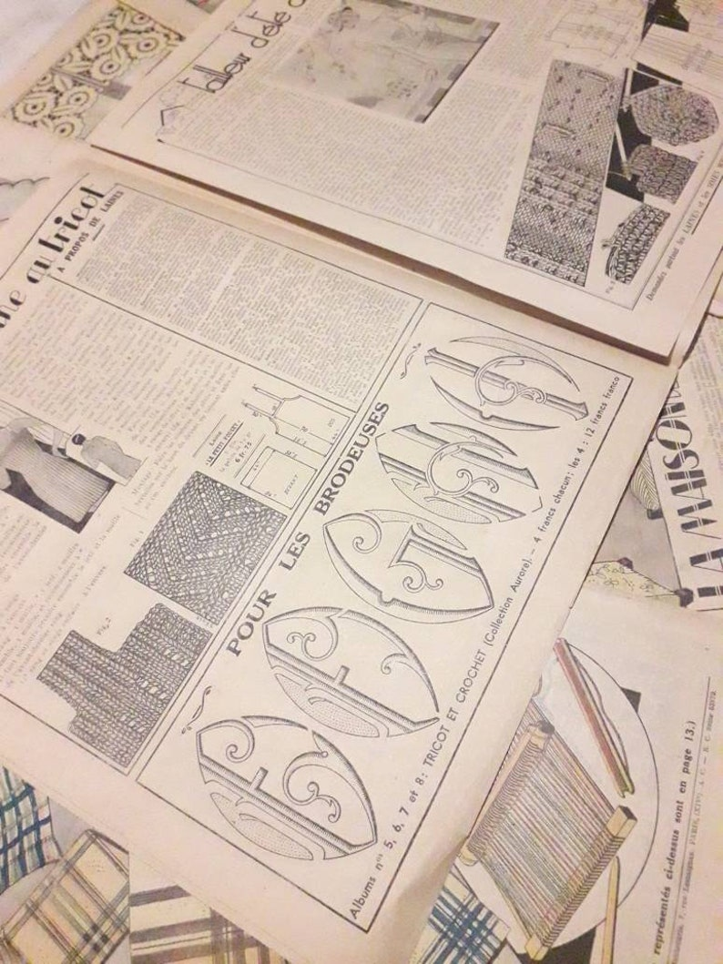 Old review 1938 My book monogram old advertisements. old couture magazine