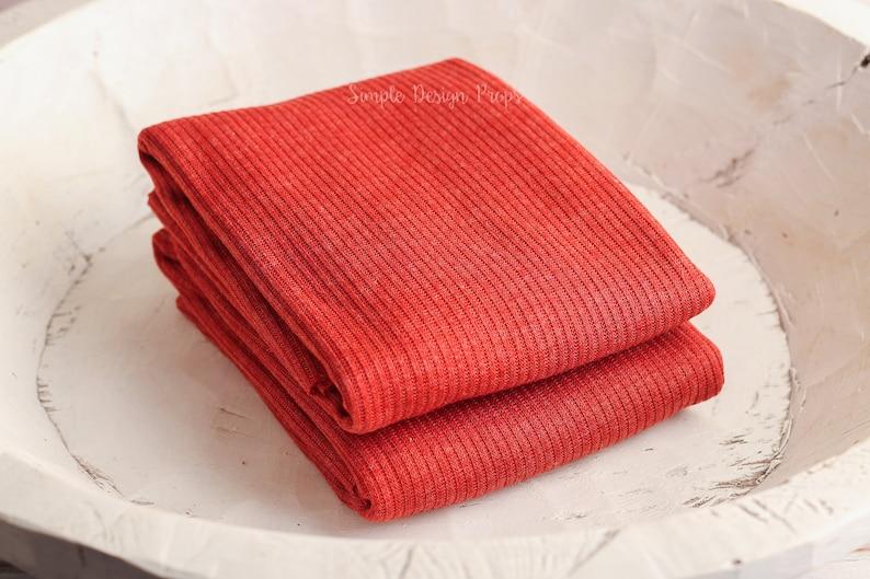 Fall Newborn Props Orange Sweater Knit Newborn Wrap Textured Wrap Newborn Photography Wraps Baby Wrap Burnt Orange Newborn Wrap