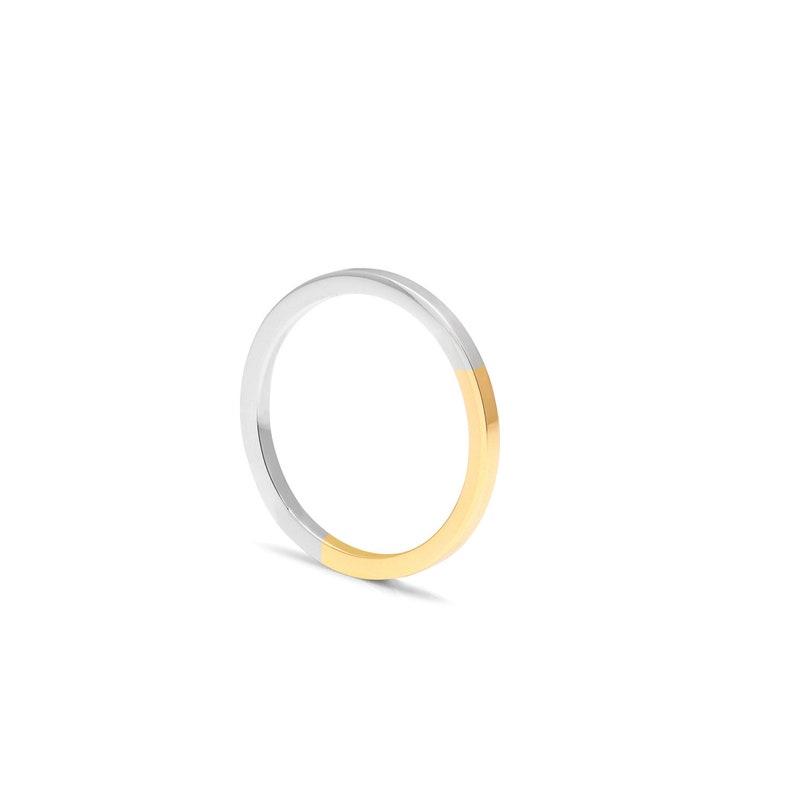 Gold /& Silver Golden Ratio Ring