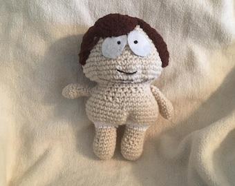 Crocheted Naked Cartman
