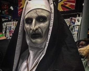 e06a67984 Demon Nun Mask (Inspired by Valak)