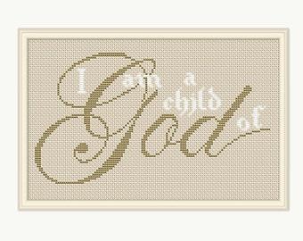 GARMENT OF GOD SAMPLER  CROSS STITCH PATTERN ONLY   YD   EYEQ