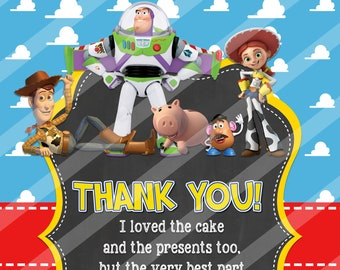 Buzz Lightyear Thank Etsy
