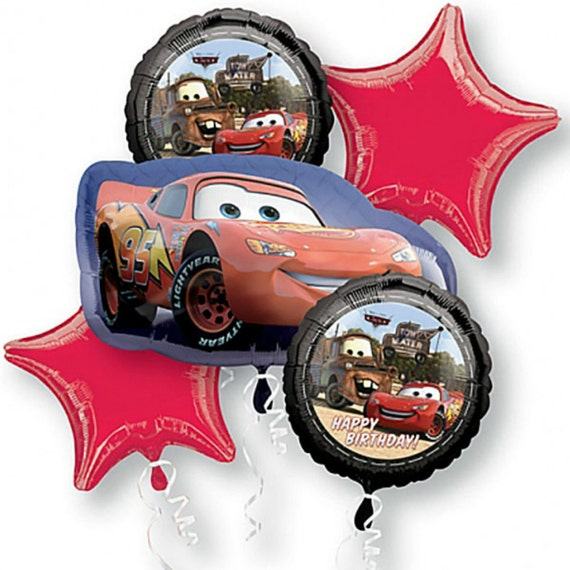 Disney Cars 3 Lightning McQueen Non Message 18 Inch Foil Balloon