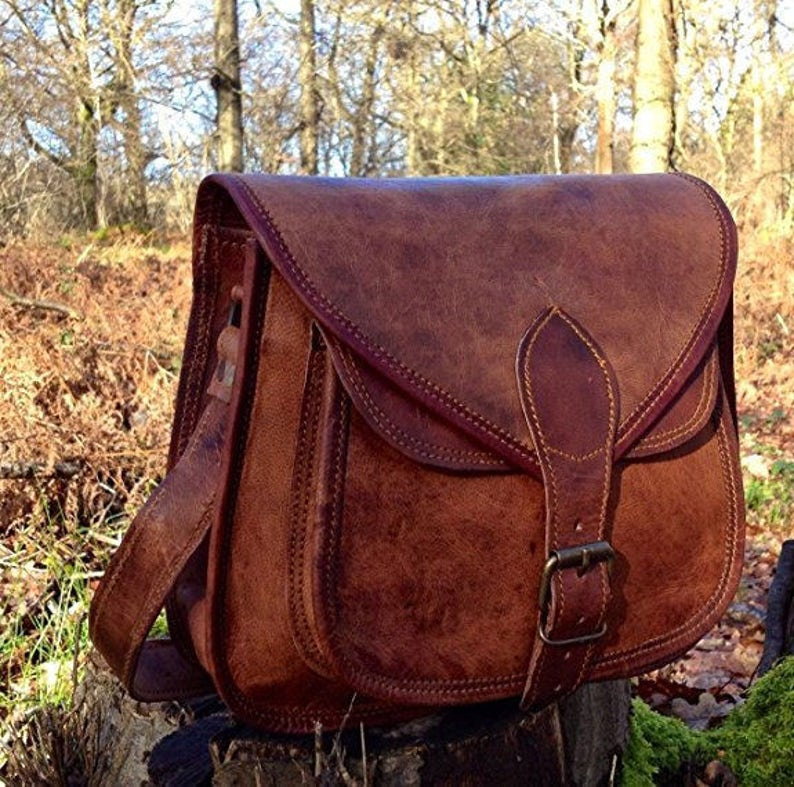 Leather Purse Leather Satchel Leather Bag Leather Handbag image 1