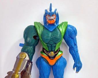 Vintage Power Ranger Eric The Barbaric Action Figure Toy