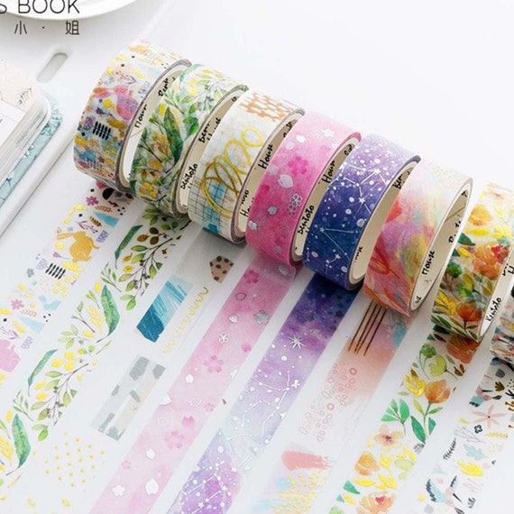 Space Soldiers planner washi tape sample 18\u201d